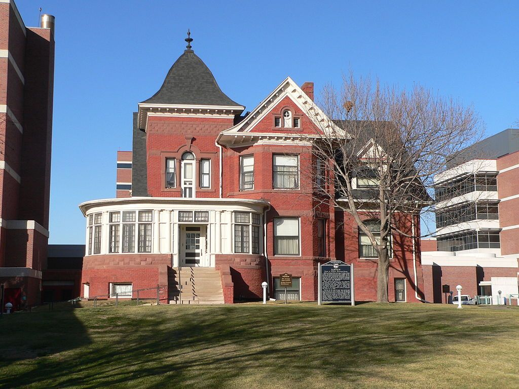 The William Jennings Bryan House, also known as Fairview