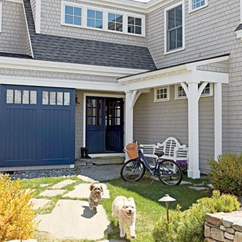 Stonington Gray | Kelly Bernier Designs | House exterior ...