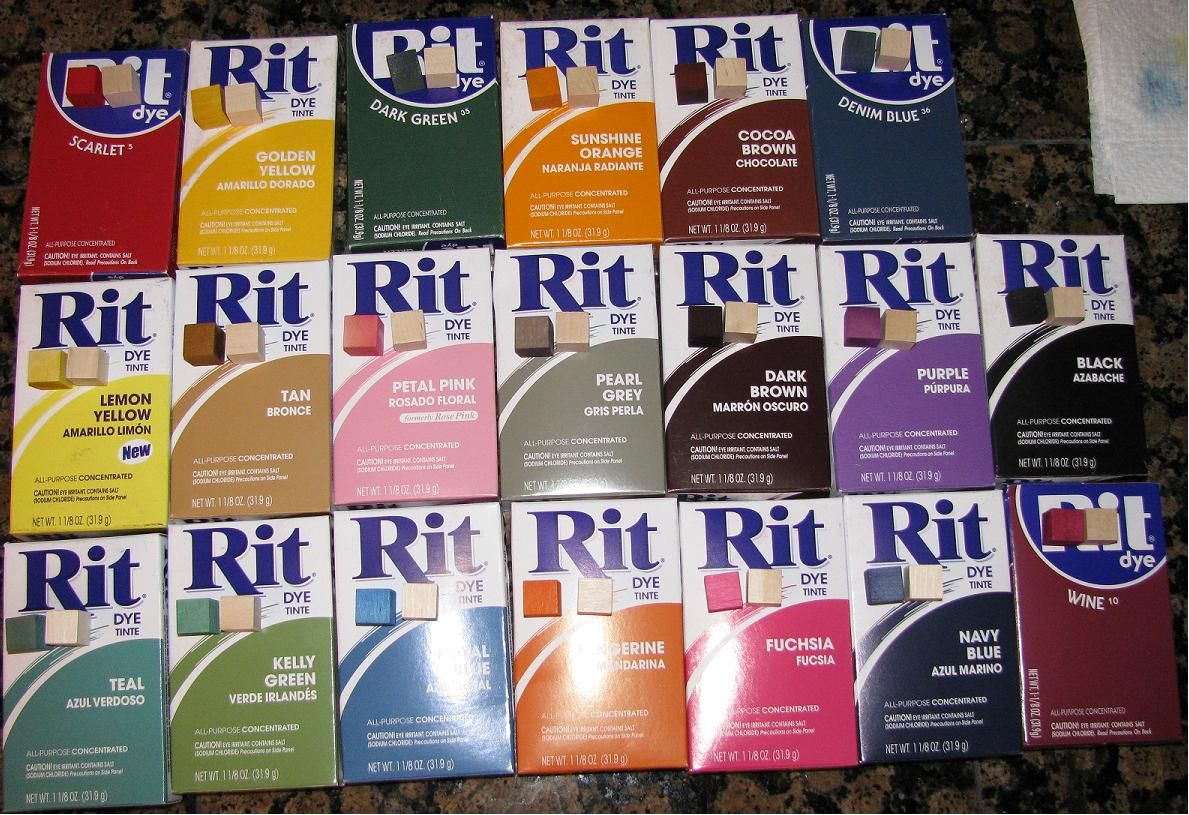 Using rit cloth dyes to color wooden cubes for use in diy board