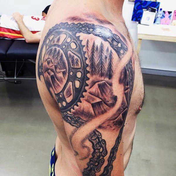 70 motocross tattoos f r m nner dirt bike design ideen tattoos pinterest tattoos. Black Bedroom Furniture Sets. Home Design Ideas