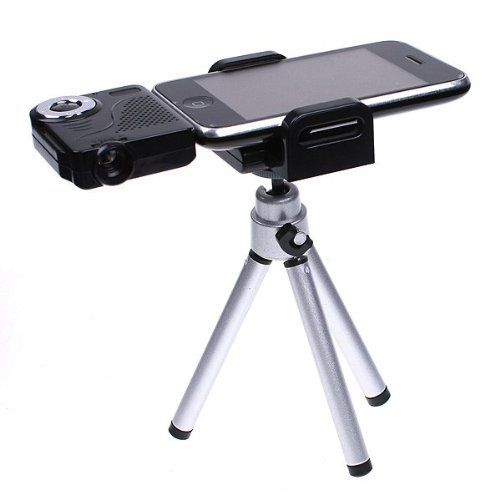 Koolertron Mini Portable Multimedia Pocket Cinema Pico Projector for iPod iPhone Tripod $97.45