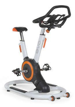 EVOi Indoor Fitness Bike | Winter workouts are rough. But dropping temps don't have to mean a workout drop-off. Stay inside and stay in shape! This fixed frame bike features an advanced Orb™ gear drive system, which features a single-axis design that'll give you the invigorating workout you need without chains, belts, or external flywheels.