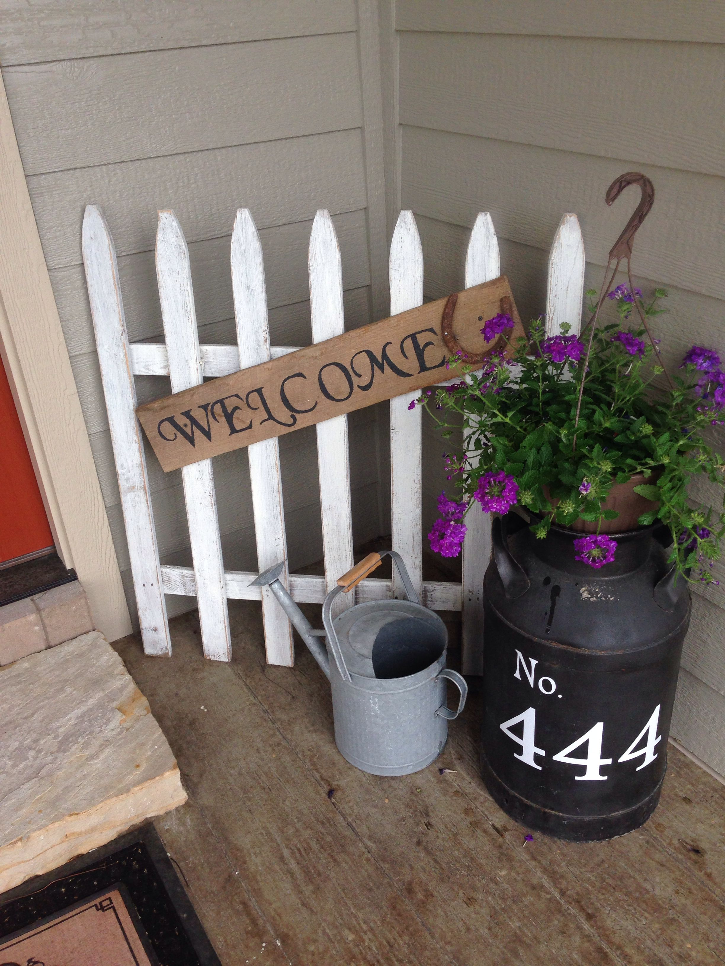 Spring Decor Diy Front Porches Curb Appeal