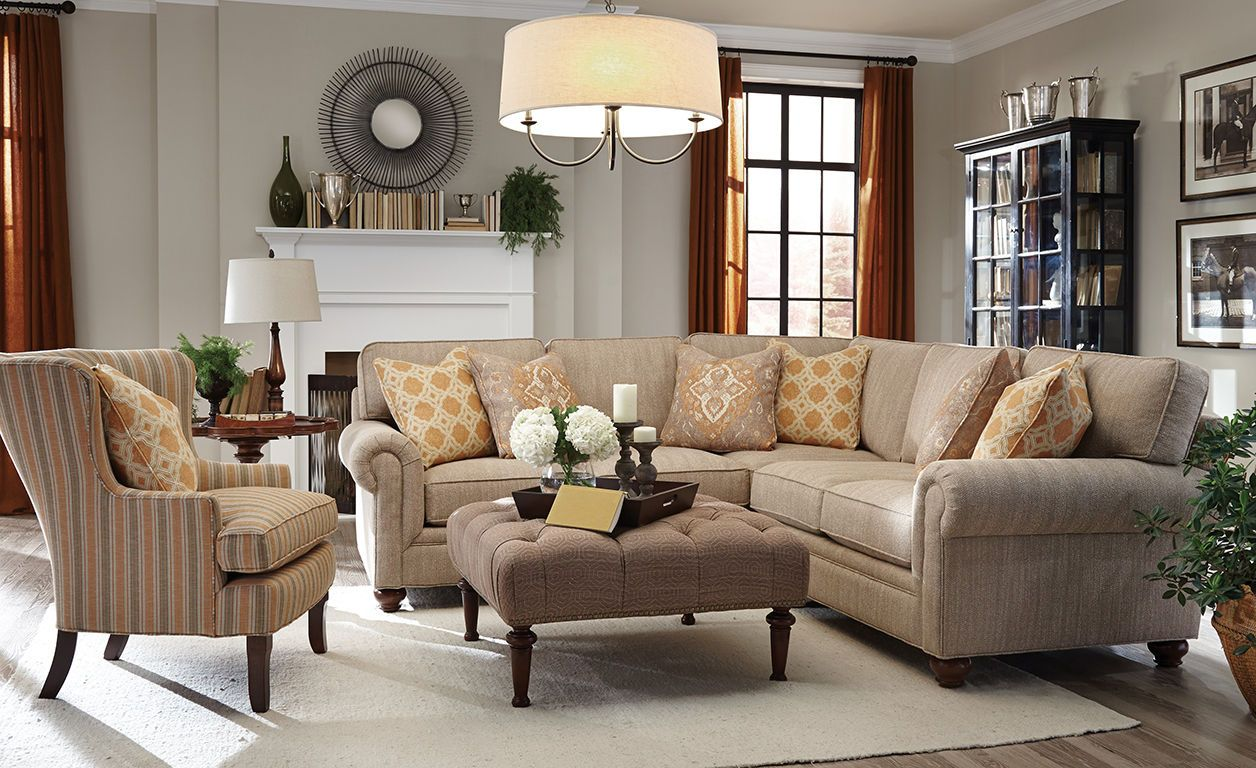 Shop For Paula Deen By Craftmaster Sectional, P7552 SECT, And Other Living  Room Sectionals At CraftMaster In Hiddenite, NC. Laid Back And Casual, ...