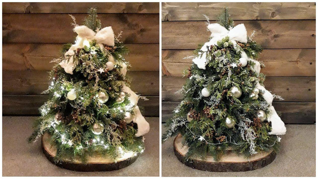 Jak Zrobic Piekna Choinke Swiateczna Film Dlugi Ale Wart Christmas Tree Christmas Holiday Decor