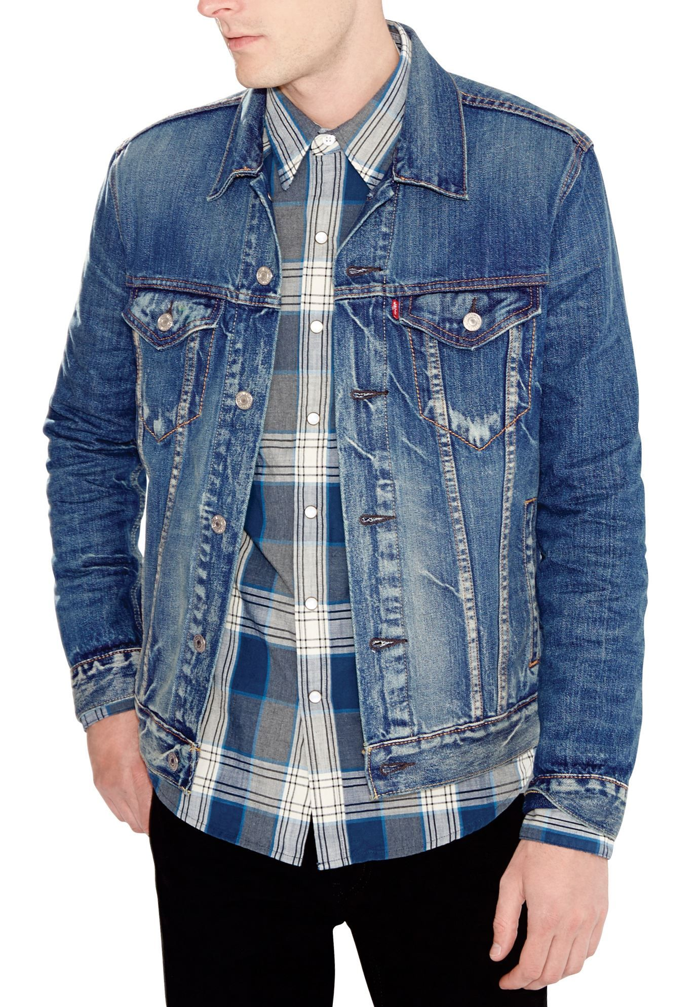 14c93ad6cd4 ... jean jacket since now in the perfect size for the big   tall man.  http   www.kingsizedirect.com large-size Levissandreg-