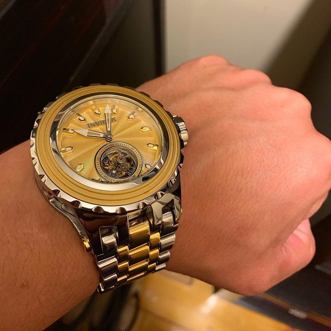 Reloj Dorado Invicta Relojes Dorados Reloj Gucci Hombre Reloj Gucci