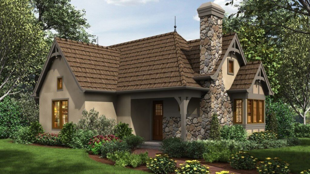 22 Stunning Southern Living House Plans You Must See Cottage House Exterior Small Cottage Homes Tiny Cottage