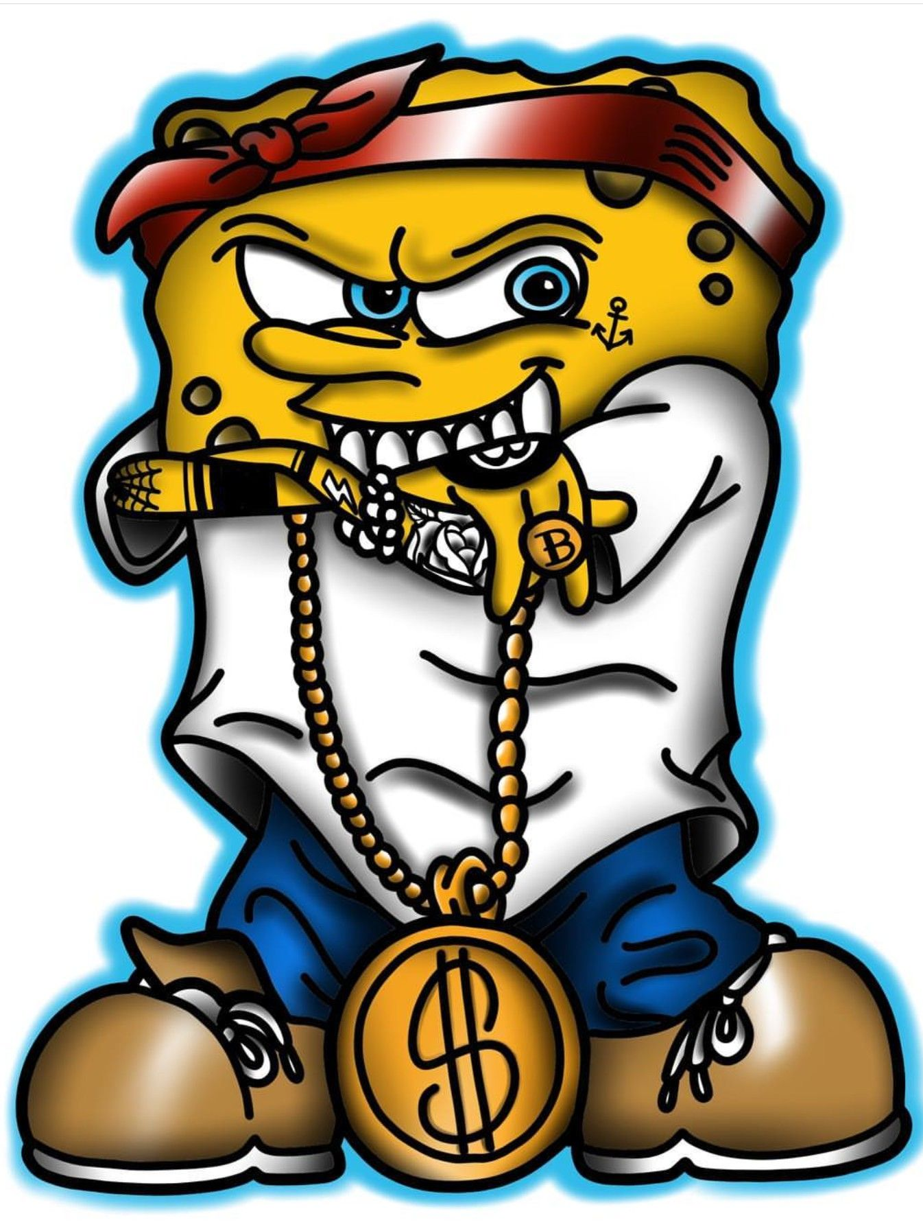 Gangster Iphone Spongebob Wallpaper Novocom Top
