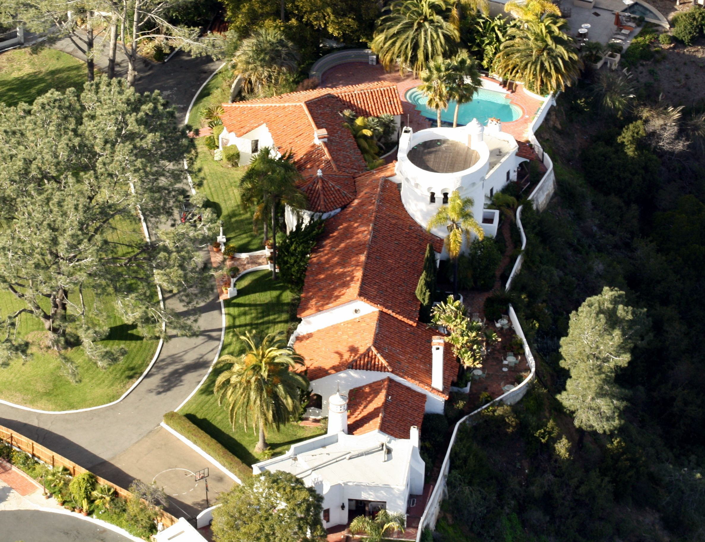 This Mediterranean Style Home Is Known Locally As The Castle It Was The Home Of Motivational Speaker T Del Mar Fairgrounds Del Mar Ca Mediterranean Style Home