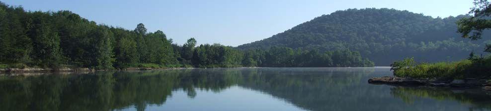 Grayson Lake State Park in Kentucky-beautiful hiking area and wonderful waterfalls!