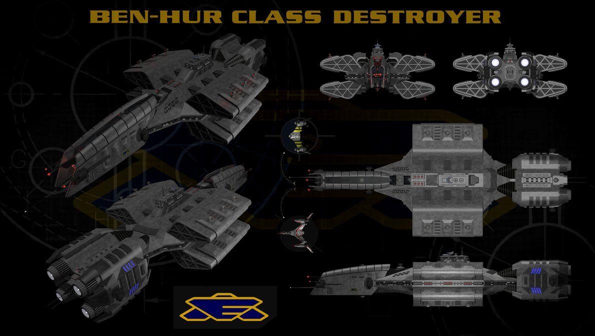 Earthforce Hyperion Cruiser D Babylon 5 Wars