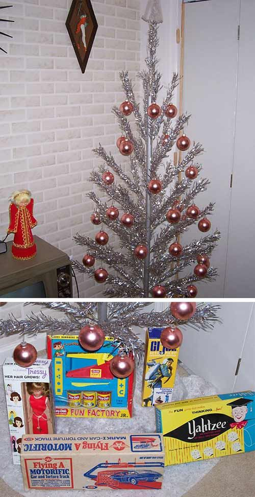 Love this modern day throwback to the day of the 1960s-christmas-vegomatic - 12 Funny, Unique And Creative Holiday Decorations From Readers