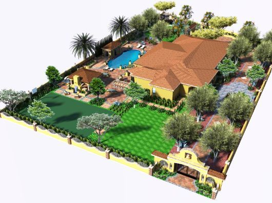3d Landscape Design By V3 Studio Berzunza By Landscape