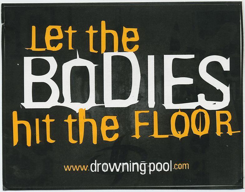 Let the body hit the floor lyric