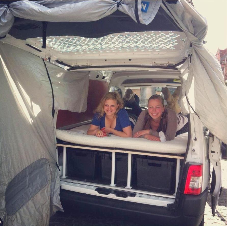Van life peugeot partner micro camping pinterest maison camping - Idee van eerlijke lay outs ...