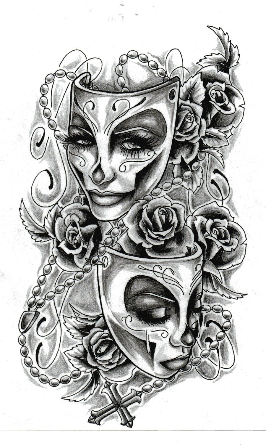 tattoo sketches | feminine tattoo design by almigh t ...