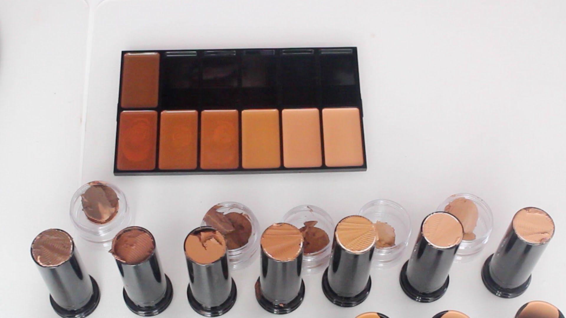 Diy Depotting My Black Opal Stick Foundations Chimerenicole Black Opal Foundation Stick Makeup Palette Storage Stick Foundation