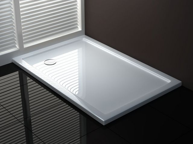 Piatto doccia ultra sottile in acrilico in diverse misure e forme ...