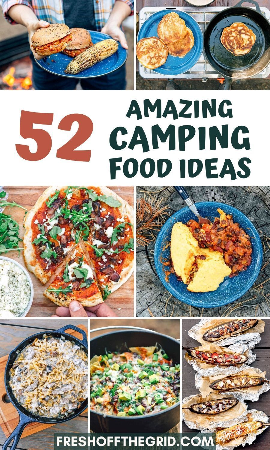 52 Incredibly Delicious Camping Food Ideas In 2020 Vegan Camping Food Camping Food Vegetarian Camping Recipes