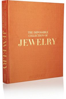 Orange The Impossible Collection Of Jewelry By Vivienne Becker Hardcover Book Assouline Hardcover Book Books Assouline