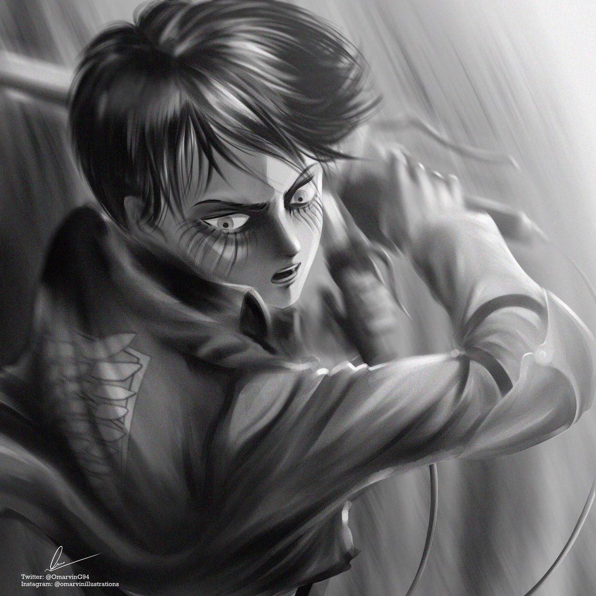 OMARVIN on Twitter | Attack on titan art, Attack on titan ...