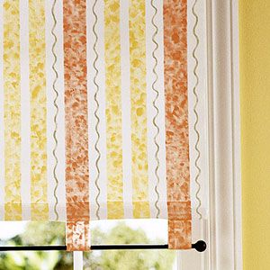 How to Dress Up Blinds and Shades with Paint