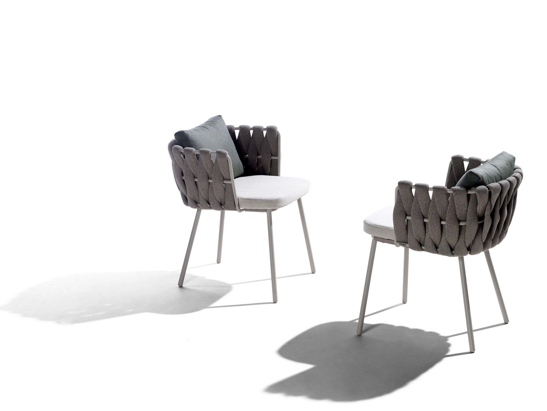 Pitaya Sedie ~ Garden chair with armrests tosca collection by tribÙ design