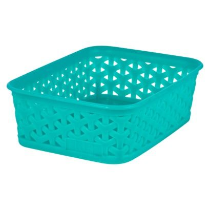 Room Essentials Blue Y-Weave: Translucent S4  - X-Small