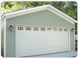 Tinley Park Garage Builder 20 X 24 Gable With 4 1 2 Roof