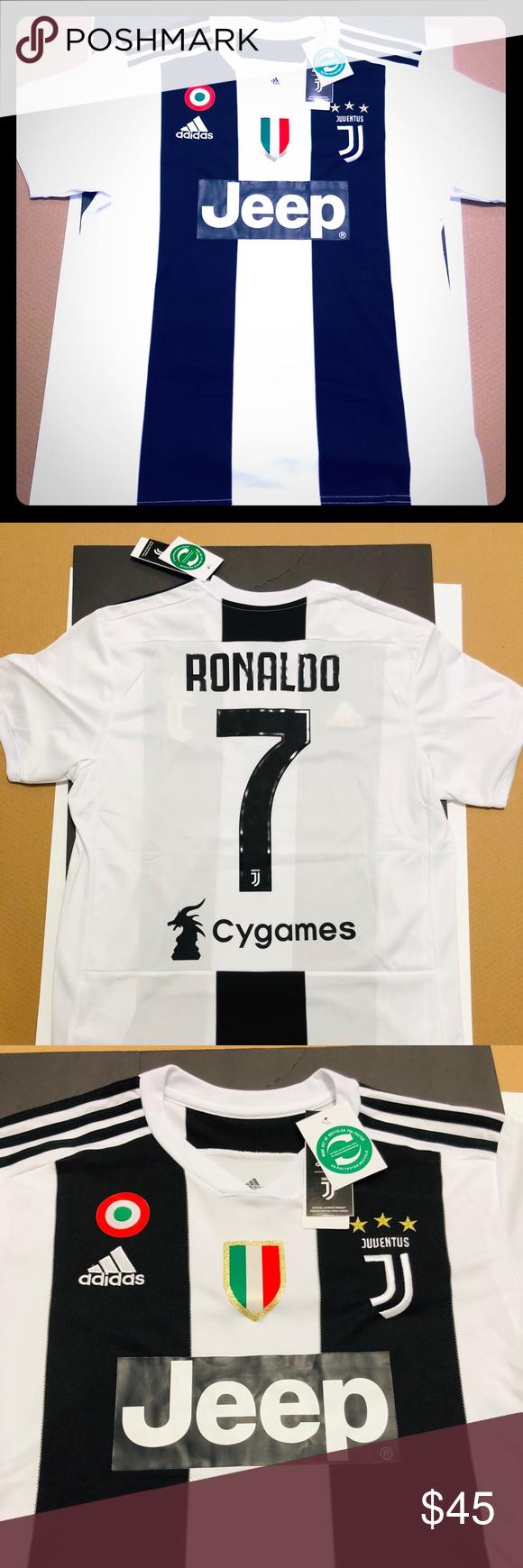08d37e50243 ... top quality home juventus ronaldo soccer jersey 7 2018 juventus home soccer  jersey 4040a 28860