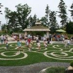 Maze Bibby and Harold Alfond Childrens Garden Boothbay Harbor Maine