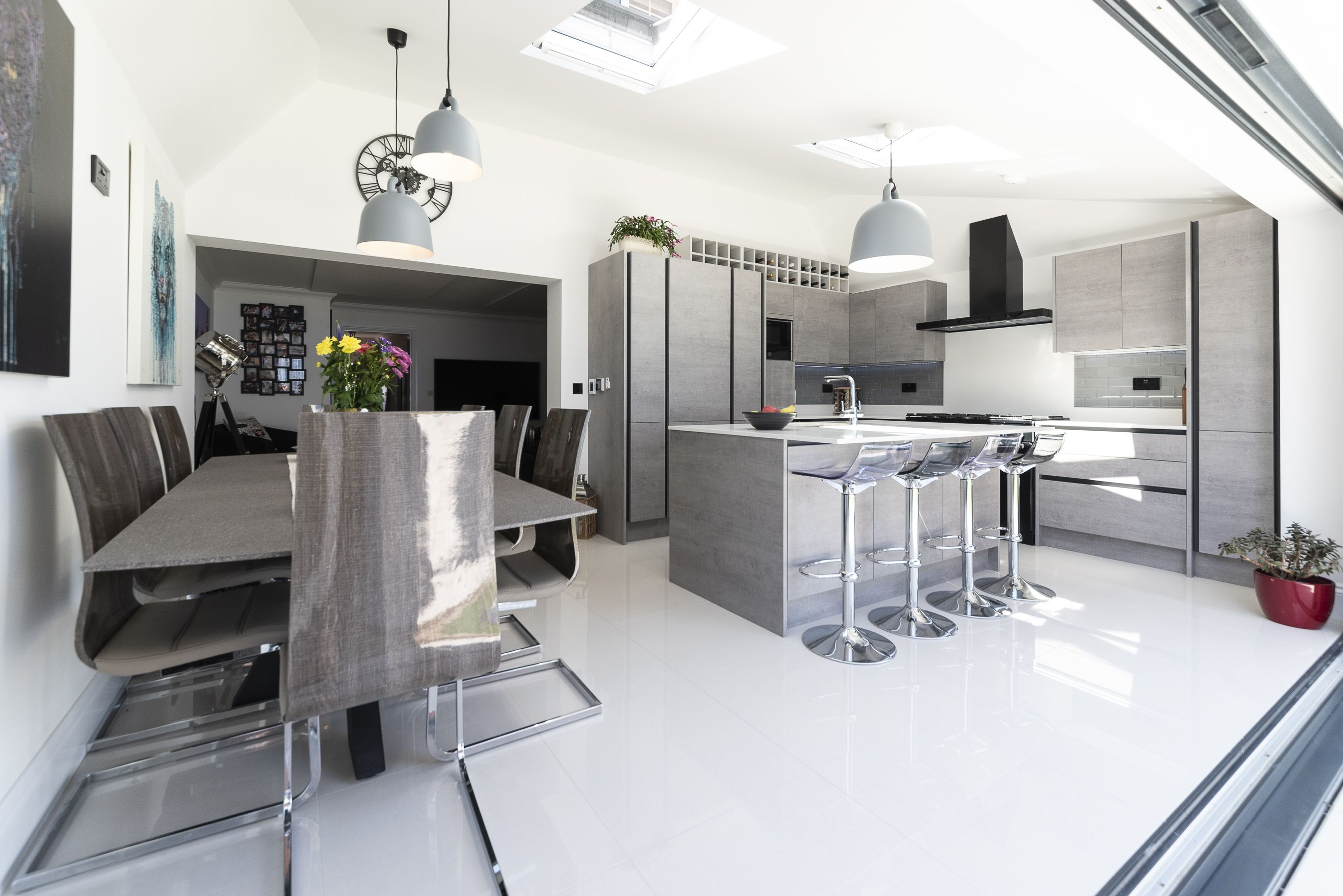 Designer Fitted Kitchens at Affordable Prices Concrete