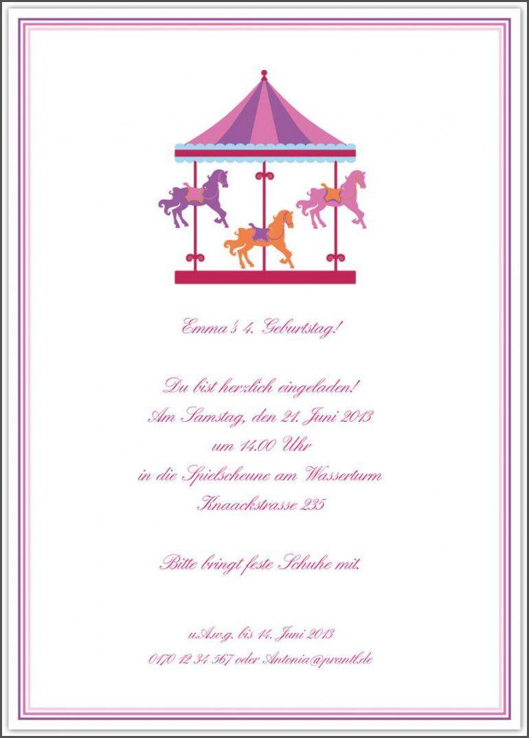 Einladung Geburtstag Text Absagen Einladung Kindergeburtstag Text