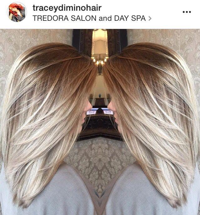 Blonde Balayage Highlights Ash Blonde Light Blonde Dark Root Platinum Blonde Hair Styles