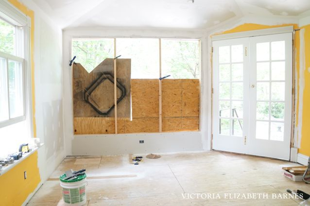 Goodbye wall, hello windows! LOVE this ladies ideas... and her writing is hilarious!