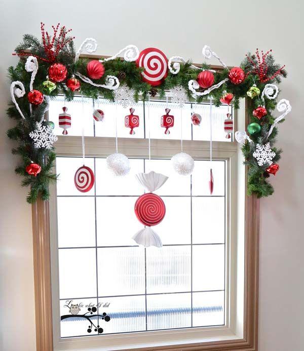 Top Christmas Window Decorations Navidad, Ideas cumpleaños y Cosas - decoraciones navideas para el hogar