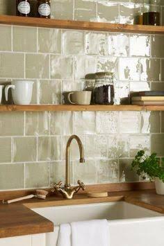Image Result For Hand Made Tiles 8x8 Plain Sage Green Kitchen