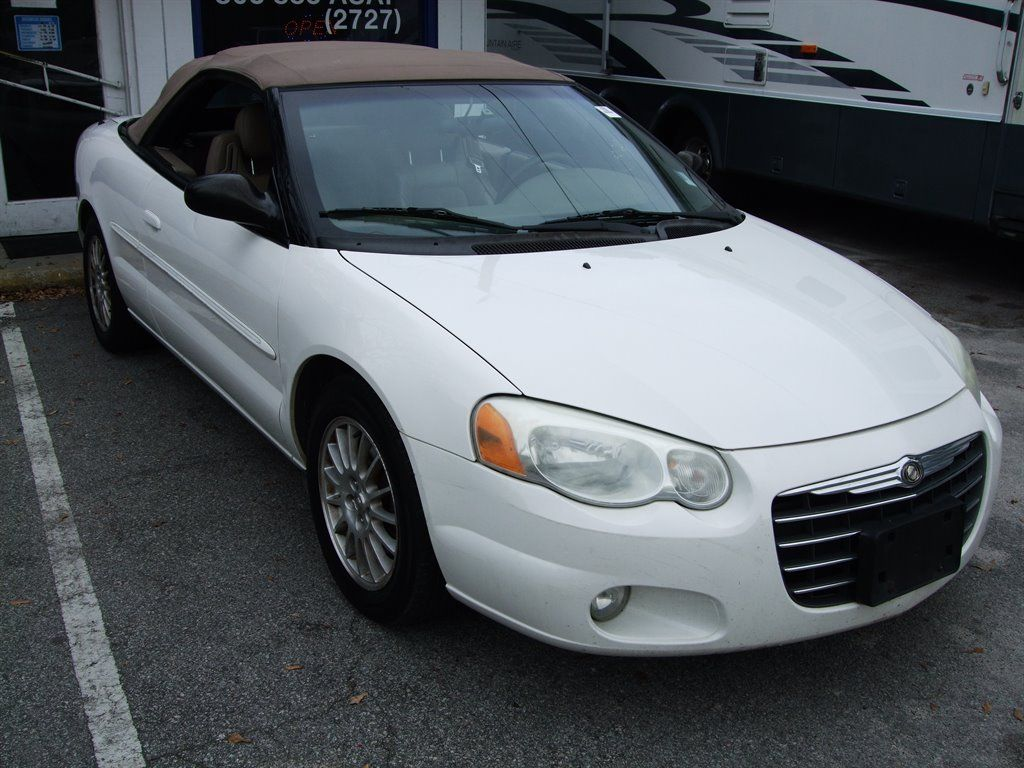 2004 Chrysler Sebring Get Your First Convertible Before Spring