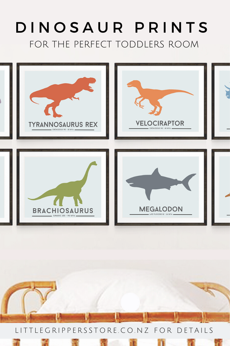 Dinosaur Wall Art Toddler Print Set Of Six Prints Dinosaur Decor Boys Nursery Print Big Boy Room Decor Dinosaur Print Set In 2020 Nursery Prints Boy Dinosaur Toddler Room Big Boy