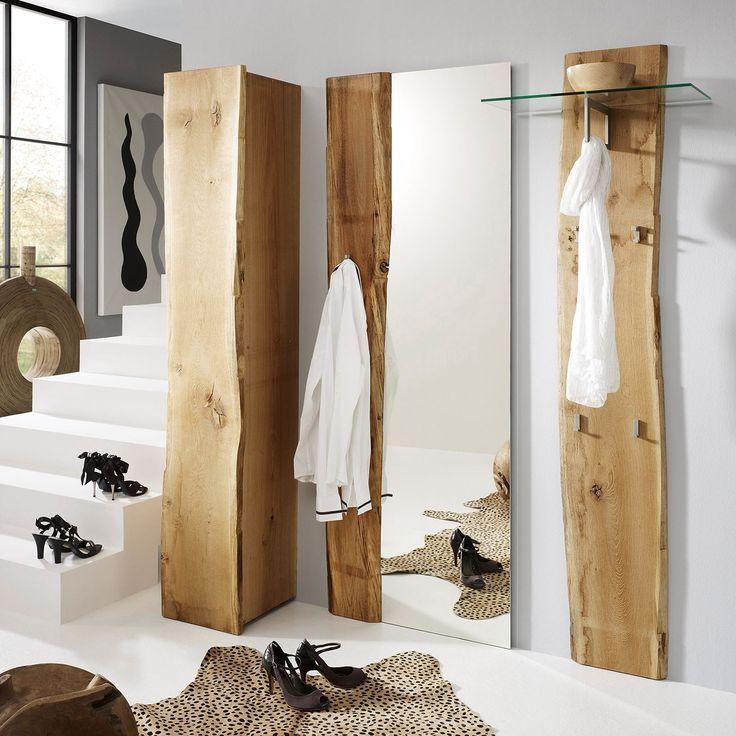Spiegel Woodkid I Eiche Massiv Eiche Kopfteil Massiv