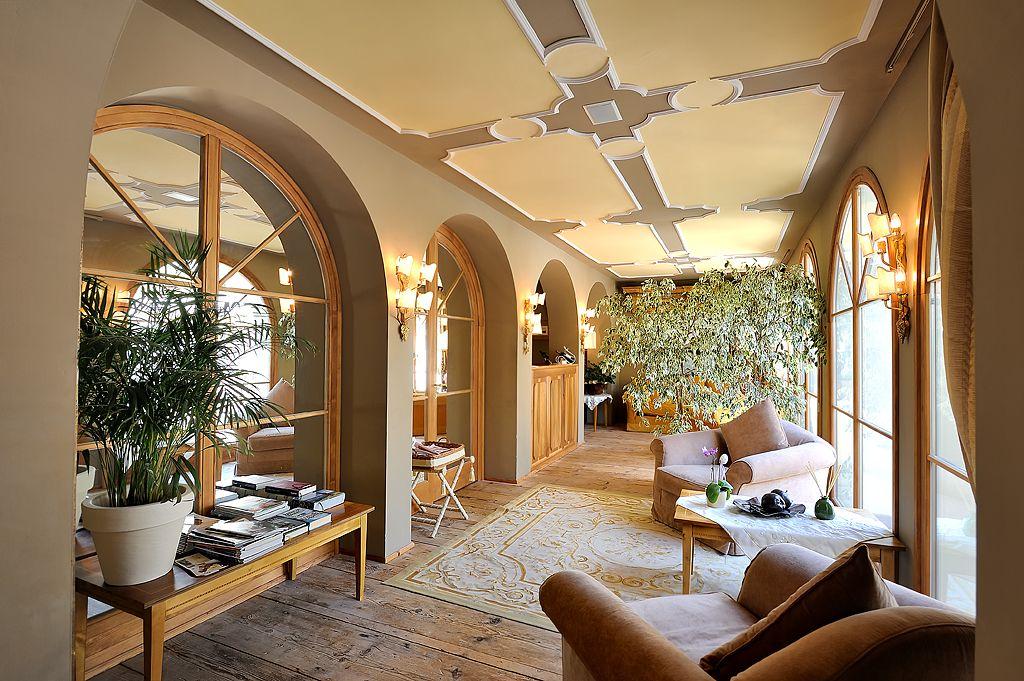 L'area accoglienza di Villa Orso Grigio***** Oversized