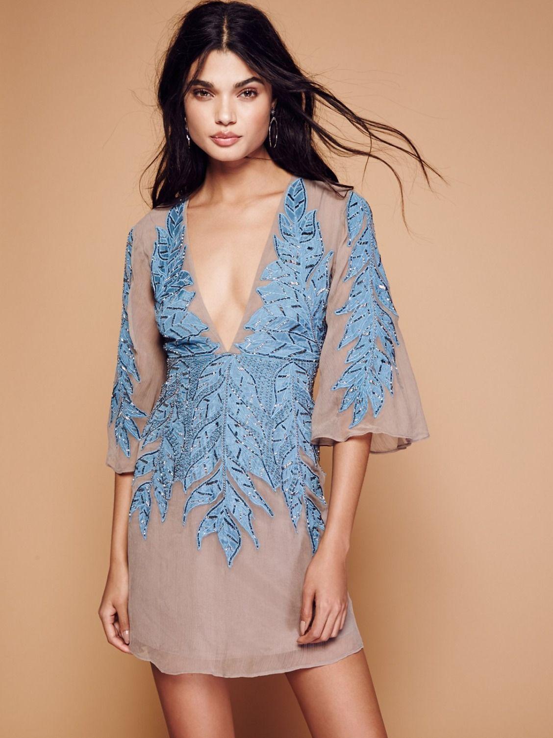 Songbird Embellished Mini Dress | Stunning party dress featuring eye ...