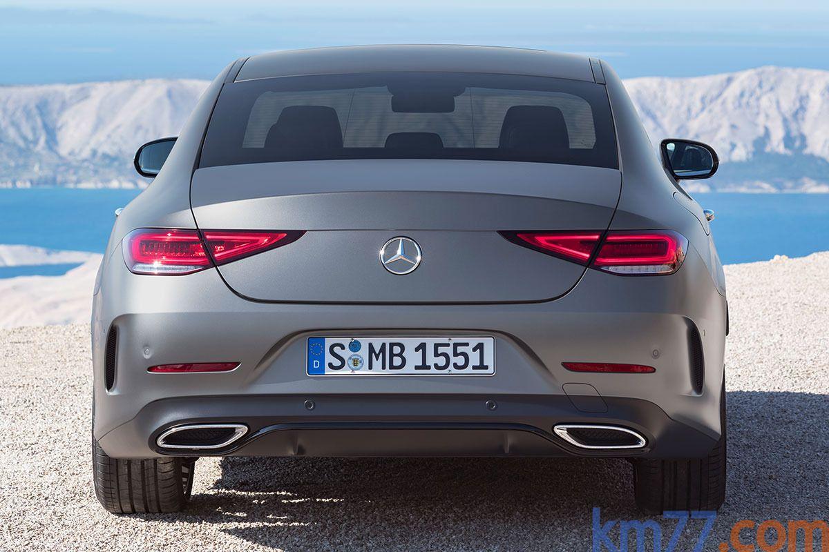Mire Aqui Fotos Fotos Exteriores Mercedes Benz Cls Coupe 2018