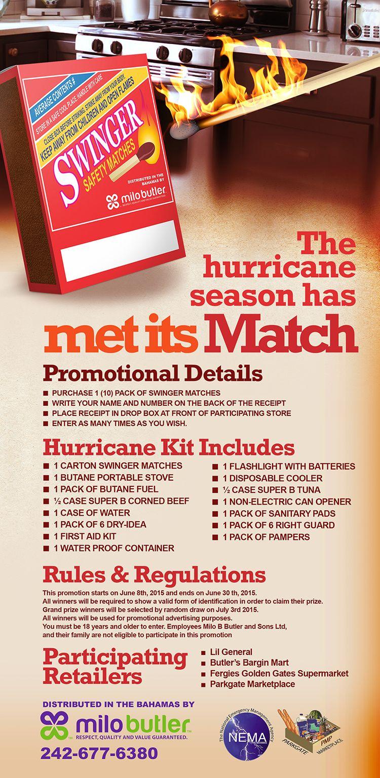 The Hurricane Season Has Met Its Match Hurricane Kit Portable Stove Seasons