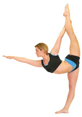 What is the yoga bow pose?