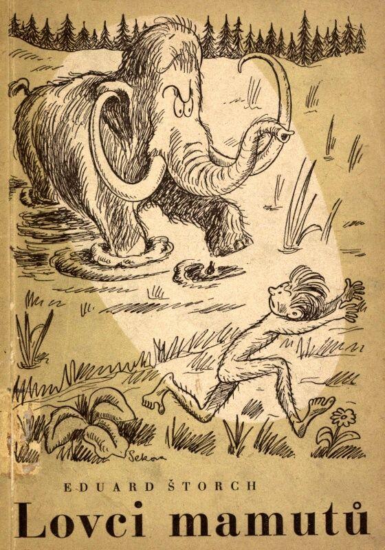 Lovci mamutů první vydání (r.1946) Amazing adventures