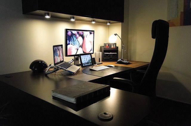 30 Impressive Home Office Workstation Setups Home Office Stuff