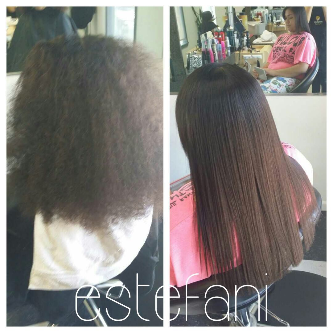 Straight perm damage - Chemical Straightening