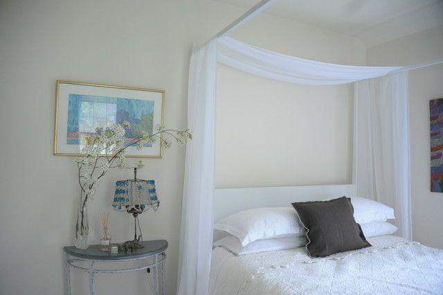 Romantisches Schlafzimmer mit Himmelbett gestalten | Himmelbett ...